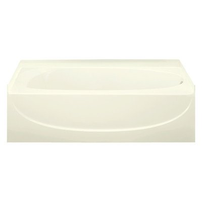 Sterling 71091122-96 Acclaim Vikrell 60-In Alcove Bathtub with Right Hand Drain, Biscuit