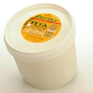 Domestic Greek Feta Cheese, 4lb bucket ()