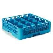 Carlisle  (RG16-114) 16 Compartment Full Size OptiClean Glass Rack by Carlisle