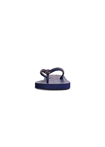 edaa51097 Tory Burch Classic Flip Flop in Navy Sea Ziggy Blue high-quality ...