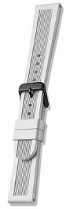 Genuine Swiss Army Mid-Size White Rubber Strap for Dive Master 500 by Swiss Army