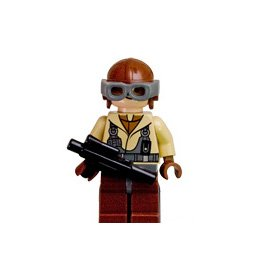 LEGO Star Wars LOOSE Mini Figure Naboo Pilot with Blaster