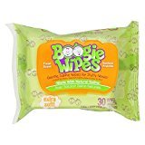 Boogie Wipes, Gentle Saline Wipes for Stuffy Noses (Pack of 8) by Generic