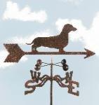 Dog - Daschund Garden Stake Weathervane (Weathervane Stake)