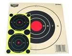 Birchwood 8 Inch Sight - Birchwood Casey Eze-Scorer 8-Inch Bull's-Eye Paper Target - 26 Sheet Pack