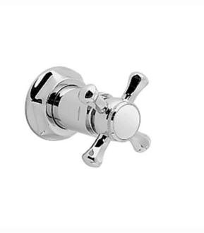 - Jado 818/765/100 Valve Plain Cross Handle Shower Trim