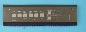 OKIDATA OKI 50069603 320 Op Pnl w/Frame & Overlay ML320 ML321 ML390/391 by OKIDATA OKI