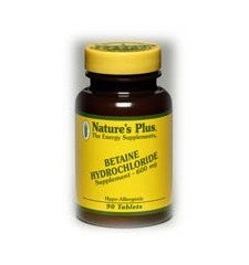 Betaine Hydrochloride, 600 mg, 90 Tablets by Nature's Plus