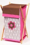 Bacati - Damask Pink/chocolate Hamper