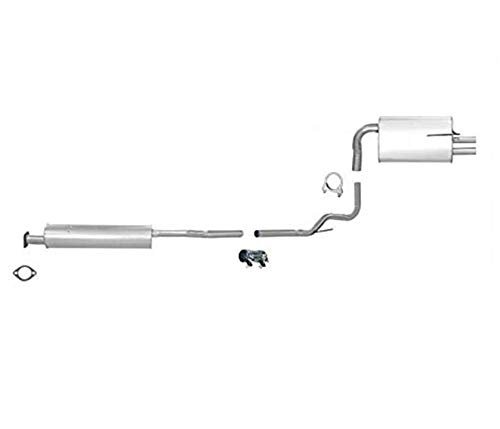 2005 nissan altima exhaust system - 3