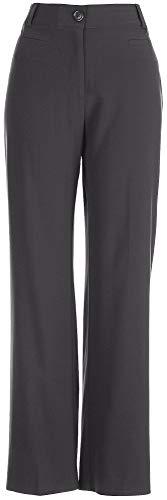Counterparts Petite Bi-Stretch No Gap Pants 6P Charcoal grey