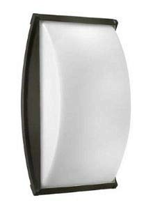 Hinkley 1655TT-LED Atlantis - One Light Large Outdoor Wall Mount, Titanium Finish with Cased Opal Glass