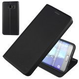 Nouske Samsung Galaxy S6 Edge Plus Wallet Case with Credit Card Holder and Stand Shockproof PU leather Flip Bumper,Black