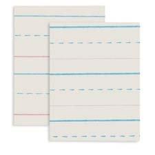 Broken Midline Paper, 1/2