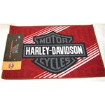 Harley Davidson Tufted Rug - Red