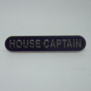 House Captain Enamel School Bar Badge - Blue - Pack of 5 by Lapal Dimension