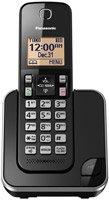 Panasonic KX-TGC350B Cordless Phone with Answering Machine- 1 Handset