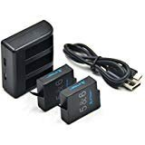 GoPro dual cargador 2x USB Supercharger dual Port casi Charger International