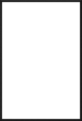 Black Poster / Print Frame (Size: 27'' x 39'')