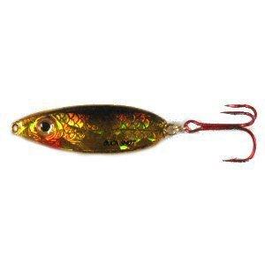 Northland Tackle BRS7-12 Buck-Shot Rattle Spoon Bait, Gold Shiner, 3/4 - Rattle Bucks
