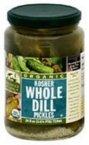 pickle gum - Woodstock Farms Organic Whole Dill Pickle, 24 Ounce -- 6 per case.