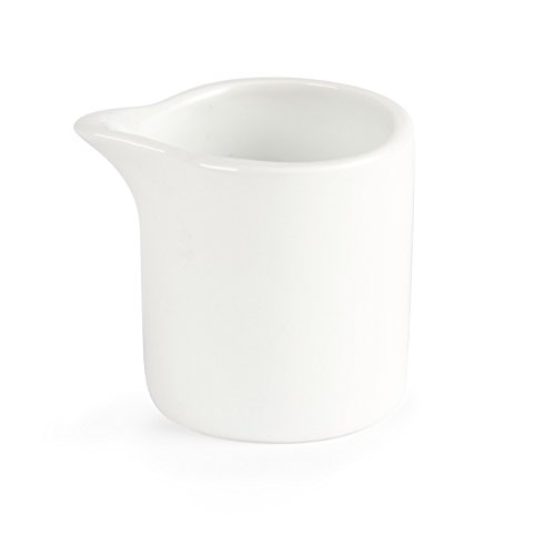 6X Olympia Whiteware Milk And Cream Jugs 57ml 2oz Mug Cup Creamer Pitcher