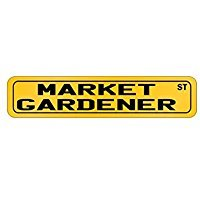 (Market Gardener St - Occupations - Street Sign [ Decorative Crossing Sign Wall Plaque ])