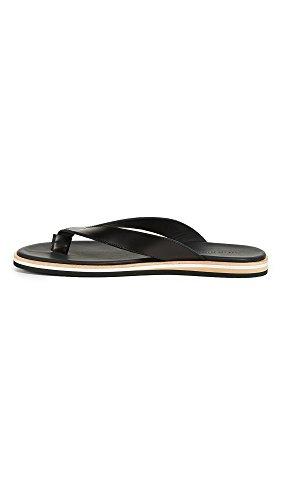 Wil De Essentials Heren Dumont String Sandalen Zwart