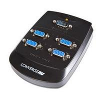 UPC 065030833011, StarTech Converge A/V 4 Port VGA Video Splitter Wall Mountable Video Splitter