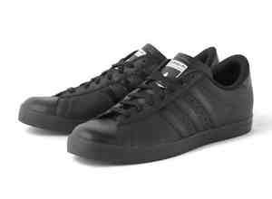 adidas black trainers