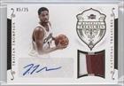 Tristan Thompson #5/25 (Basketball Card) 2014-15 Panini National Treasures - Material Treasures Signatures - Prime #MTS-TT