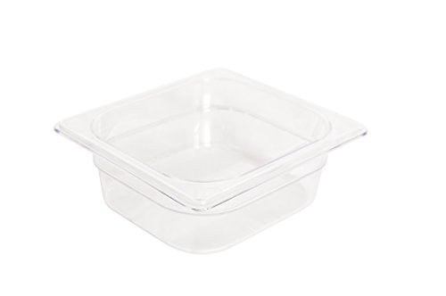 "Rubbermaid Commercial Products Cold Food Pan, 2-1/2"" Deep Pa"