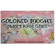 Mochi Sweet Rice Cakes MINI Sweet Rice Cake - Rainbow 300G 10.58oz