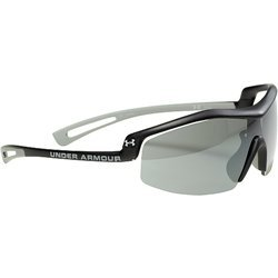 Under Armour Draft Photochromic Sport Sunglasses, Satin Carbon Frame/Gray Lens, one size