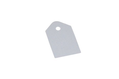 NTE Electronics TP0008 Silicone/Fiberglass Thermo Pad for TO-3P Type Case, Gray (Pack of 5)