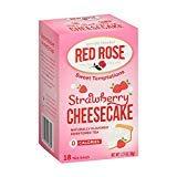 - Red Rose Tea Strawberry Shortcake, 18 ct
