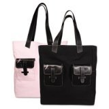 Day-Timer Pink Ribbon Reversible Canvas Tote (48479)