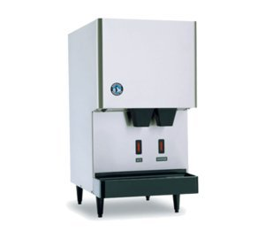 Hoshizaki-DCM-270BAH-OS-17-Opti-Serve-Series-Sanitary-Ice-Machine-and-Dispenser-with-288-lbs-Daily-Ice-Production-Advanced-CleanCycle24-Stainless-Steel-Internal-Auger-Built-In-10-lbs-Storage-and-H-GUA