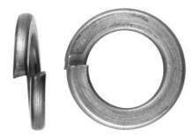 100 Stü ck Edelstahl V2A Federringe DIN 127 B5 (5 mm Schrauben) Sonstige
