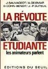 La révolte étudiante : les animateurs parlent par Cohn-Bendit