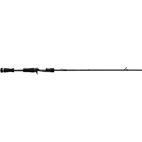 13 Fishing One 3 Fate Chrome M Casting Rod, 7.1′, Chrome