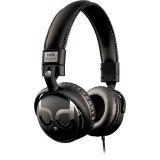 Bell'O Digital BDH821BKBL  Over-the-Head Headphones with Track Control and Microphone, Blue