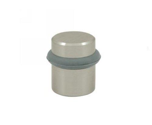 (Baldwin 4505140 Universal Floor Bumper Door Stop, Polished Nickel)
