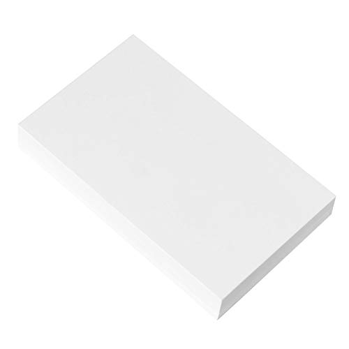 (Home Advantage Set of 50 3x5 Index Cards Blank White, Postcards )