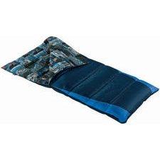Wenzel Timberwolf Oversize 25-Degree Sleeping Bag (Navy, Cobalt Blue), Outdoor Stuffs