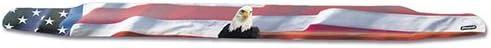 Stampede 2149-30 Vigilante Premium Series Hood Protector with 'American Flag With Eagle' Pattern