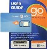 Prepaid Sim Card For At&t Go Phone
