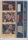 Andrea Bargnani; Jordan Farmar; Randy Foye #25/25 (Basketball Card) 2007-08 Topps Trademark Moves - Trademark Relics - Triple Blue In the Paint Patch #TTR-BFF