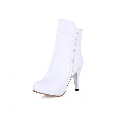 amp;Amp; Patent RTRY Leatherette Office EU39 Evening Kids Spring Winter Novelty US7 Wedding Platform Party Leather UK6 Casual Women'S amp;Amp; Fall Big Career Comfort Dress Boots FFW7Uqz