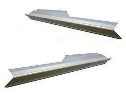 1997-2003 Works With Ford F150 4 Door Extended Cab Outer Rocker Panel Pair